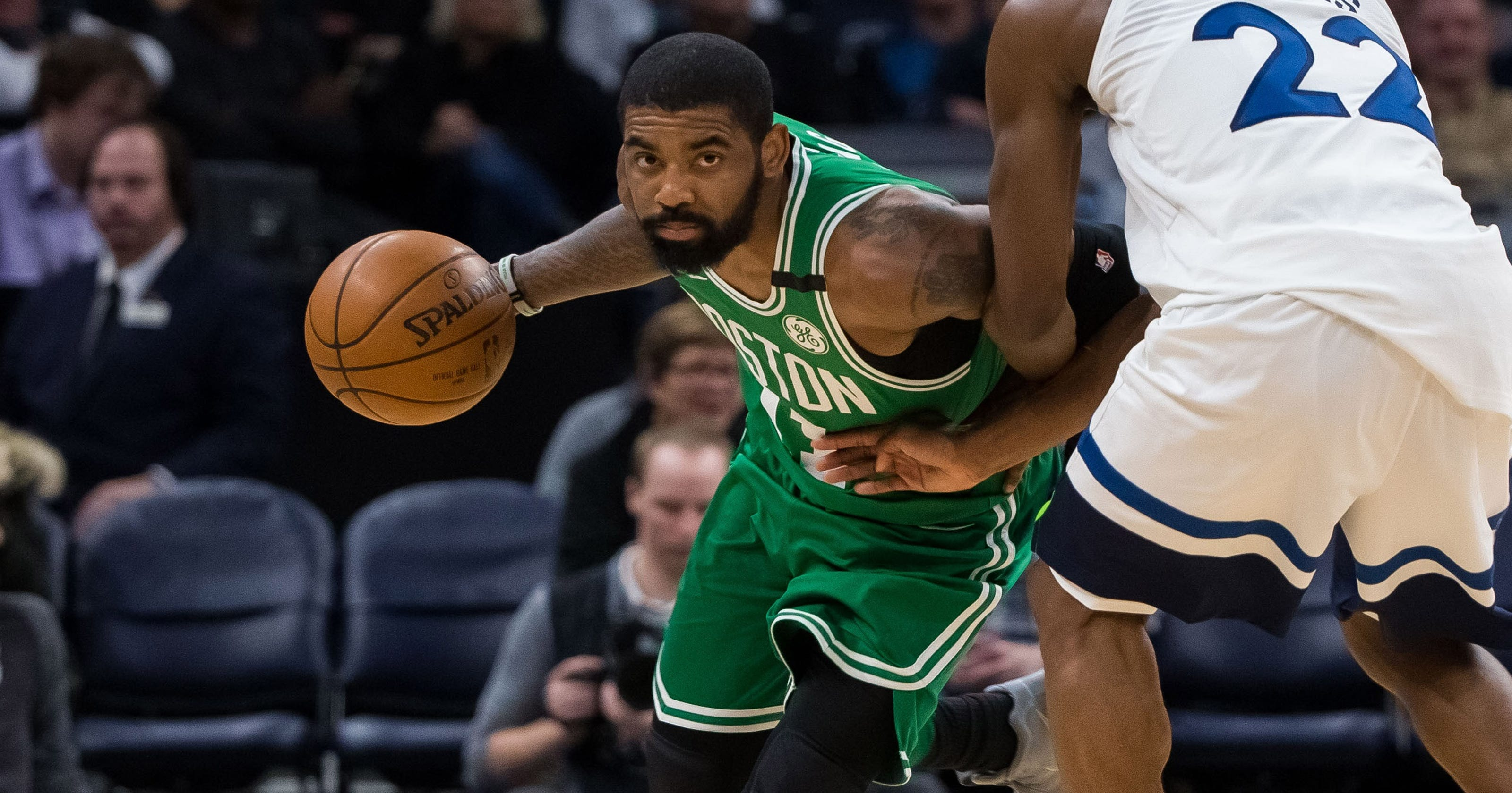 c0e829bc2 Celtics top T wolves to clinch playoff spot after Jaylen Brown injury