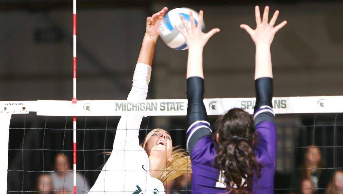 Reinig cherishes MSU volleyball stage