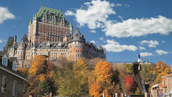 In 1893, the Canadian Pacific Railway built the castle-inspired Chateau Frontenac that still dominates the Quebec City skyline.