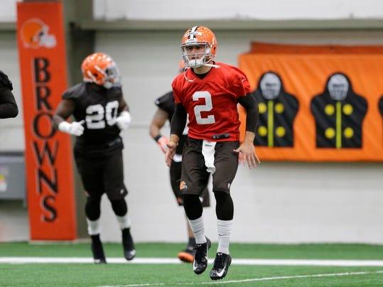 Browns Manziel Football