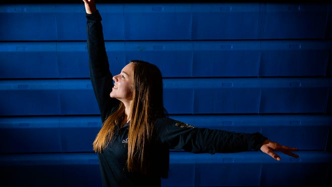Sartell High School senior Hannah Wohletz is the Times All-Area Dance Athlete of the Year. She was photographed Friday, March 18 at the school.