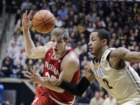 No. 22 Indiana gets out of sync in 83-67 loss at Purdue