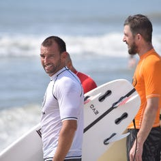 For older surfers, it's not age, it's experience