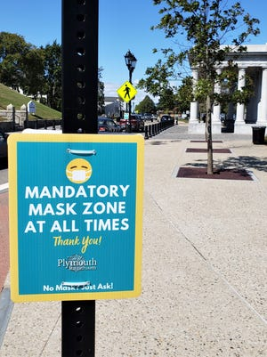 New state requirements mandate all people to wear face masks in public at all times.