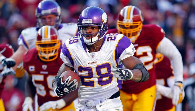 Vikings RB Adrian Peterson got off to a slow start after coming back from his own knee reconstruction in 2012.