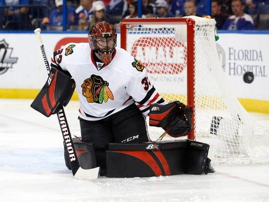 USP NHL: CHICAGO BLACKHAWKS AT TAMPA BAY LIGHTNING S HKN TBL CHI USA FL
