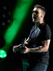 Eric Church performs June 9, 2017, during the CMA Music
