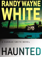 """White's third Hannah Smith novel, """"Haunted,"""" comes out next week."""