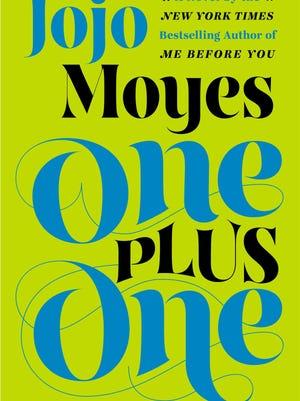 """""""One Plus One"""" by Jojo Moyes."""