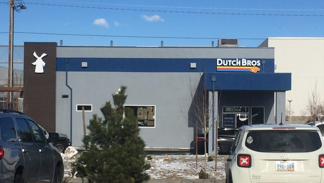 Dutch Bros, the popular drive-through coffee chain, opened its second Reno location, this time across from the Reno-Sparks Convention Center.