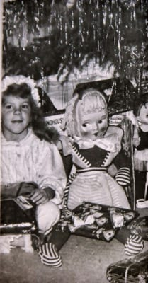 Terry Spear and her doll Amy. (Photo: Terry Spear)