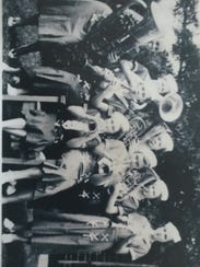 Blahnik's Girls Brass Band.
