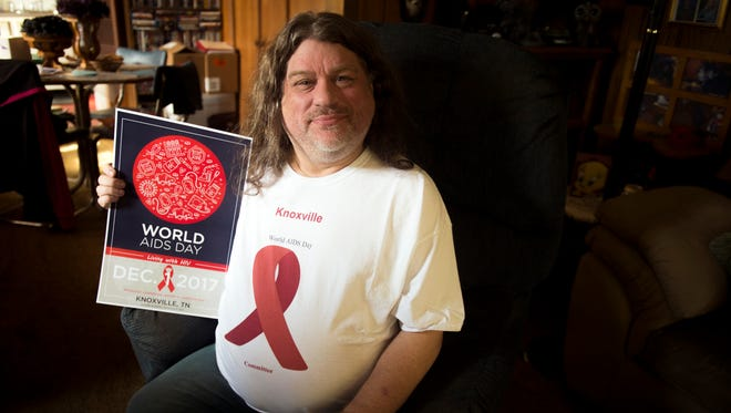 Jeff Simmons has been HIV-positive since 1991 and is a dedicated activist.