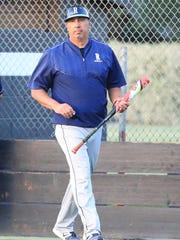 Redwood's coach Dan Hydash