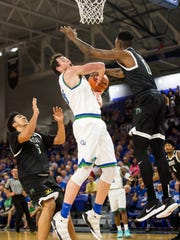 FGCU's Ricky Doyle never got to full strength during his first season with the Eagles. The fifth-year senior from Fort Myers is now back in the fully healthy swing of things.