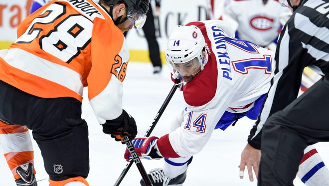Claude Giroux and the Flyers have a lot to atone for coming off their worst loss of the season.