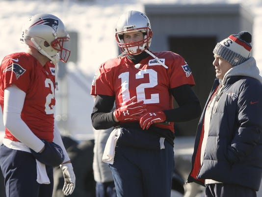 Brian Hoyer,Tom Brady,Bill Belichick