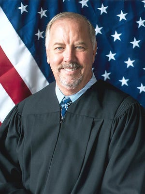 Thomas English, a retired administrative law judge, has filed to run in the Aug. 2, 2016 primary for Ingham County prosecutor. He is seen in this provided photo.