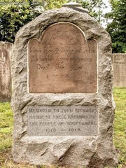 One of the oldest graves at the Whippany Burying Yard,
