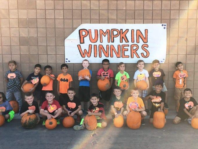 FIRST GRADE BOYS: Virgin Valley Elementary School held
