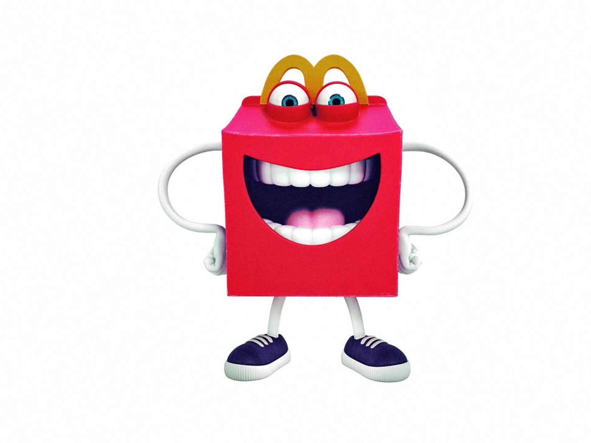 McDonald's new mascot 'Happy' is drawing frowns on social media