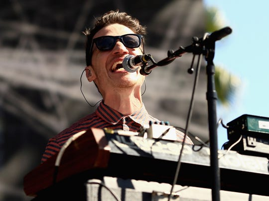 Paul Meany will perform with Mutemath on April 1 at Old National Centre.