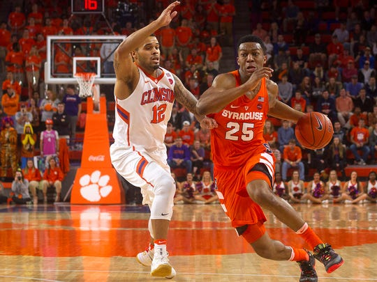 Sophomore Tyus Battle leads Syracuse in scoring at 19.8 points pergame.