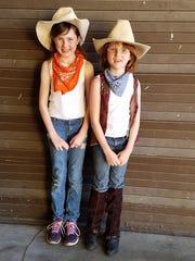 L-R Siblings Kaitlyn Myrick (who won and honorable)