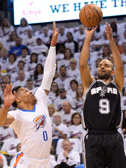 Tony Parker Russell Westbrook