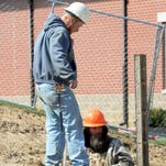 Work continues on a new residential hall this spring at Wernle Youth & Family Treatment Center in Richmond.