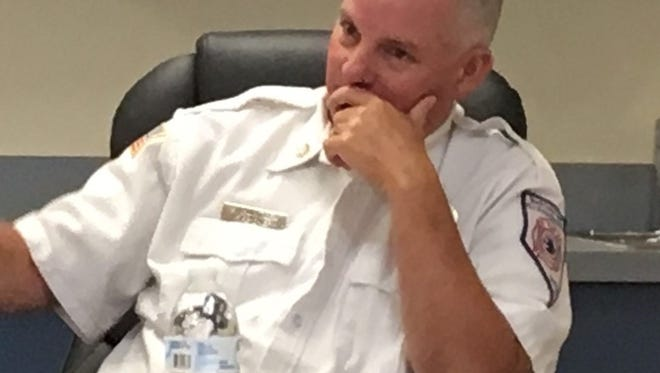 North Lyon Fire Chief Scott Huntley