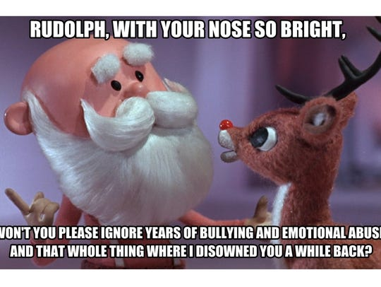 "Still from 'Rudolph the Red-Nosed Reindeer"" television"