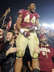 Florida State DE DeMarcus Walker had the second-most