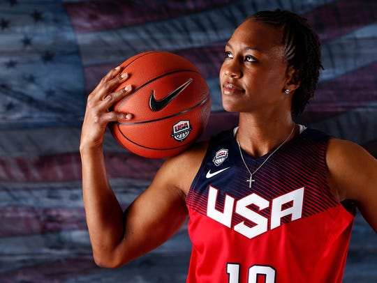 Indiana Fever star Tamika Catchings.