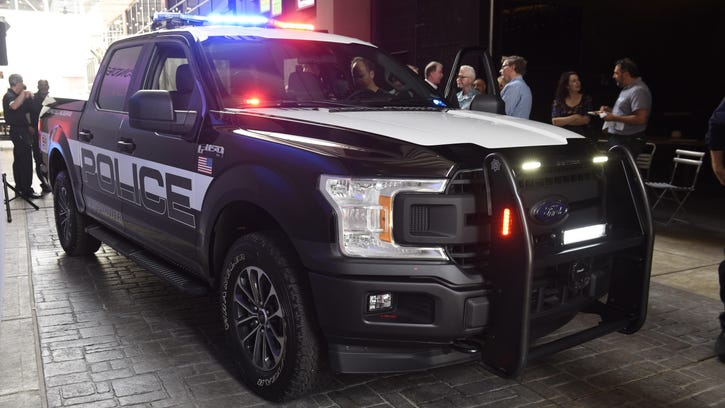 Ford debuts first pursuit-rated F-150 police pickup