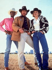 Clarence Gilyard Jr as James Trivette, Chuck Norris