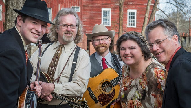 Monroe Crossing is one of 25 bands scheduled for the Minnesota Bluegrass & Old-Time Music Festival at El Rancho Manana near Richmond.