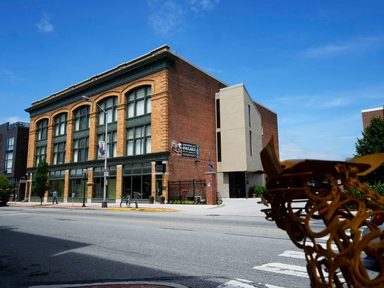 Wagman Construction, a stop on the Green Walking Tour in downtown York Friday, June 5, 2015. The tour was sponsored by USGBC Central Pennsylvania and hosted by State Rep. Kevin Schreiber, D-York.  Kate Penn -- Daily Record/Sunday News