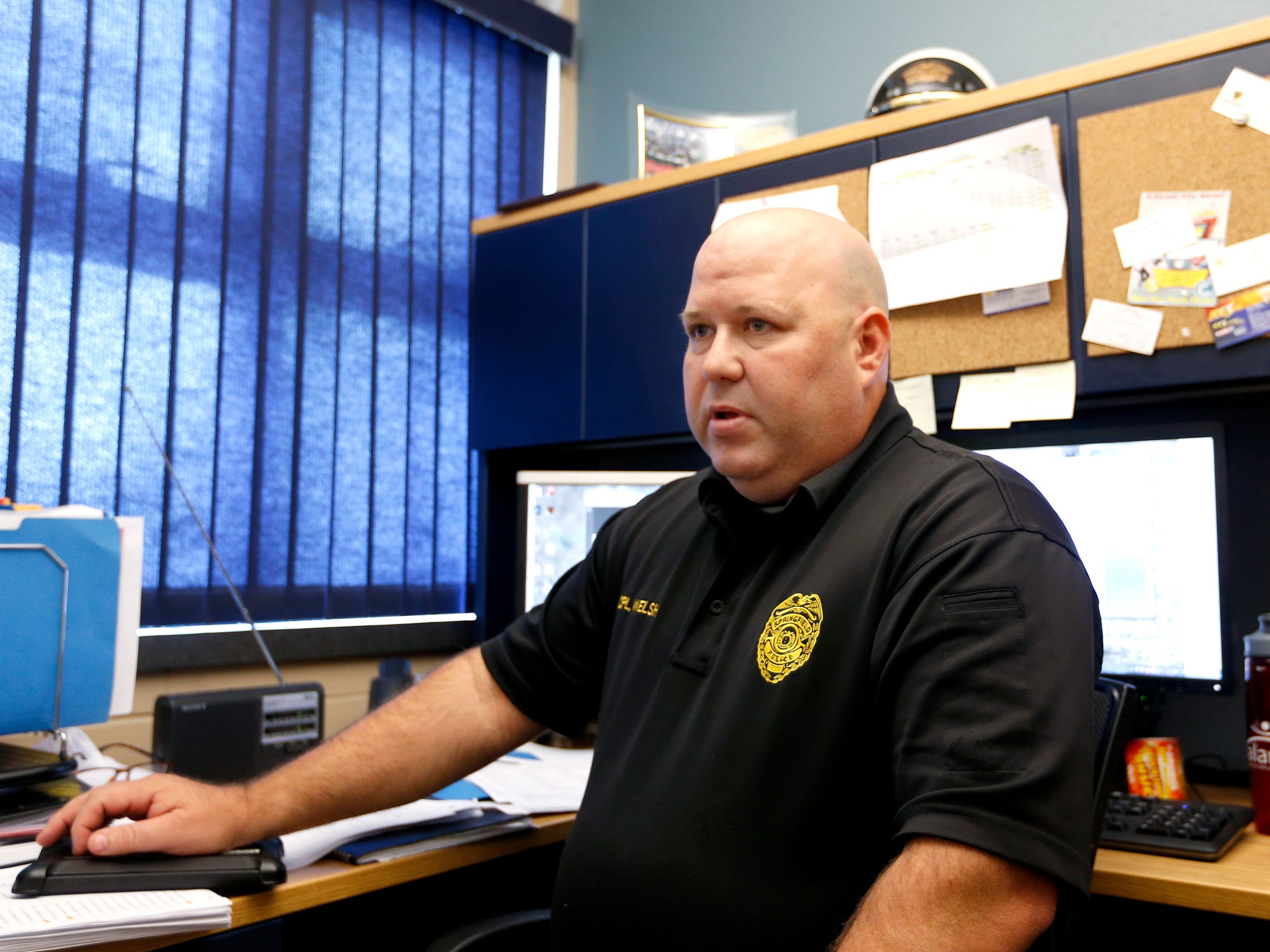 Springfield Police Corporal Chris Welsh