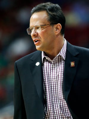 Indiana's coach Tom Crean has been with the Hoosiers since 2008. 
