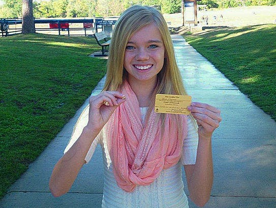 Teen Finds 3 85 Carat Diamond In State Park