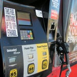 The average per-gallon price for gasoline in Nevada remains higher the national average.