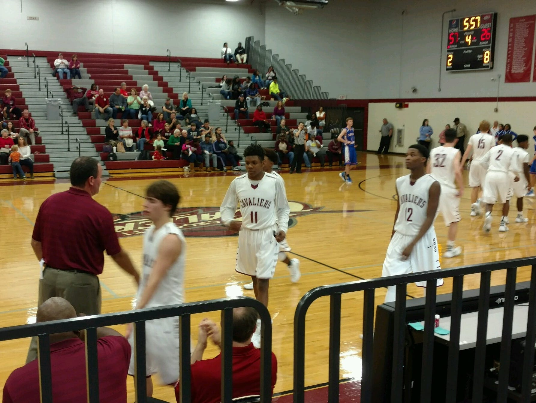 Crockett County beat Chester County on Tuesday.
