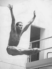 Greg Louganis won the men's diving 3-meter gold in