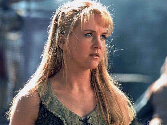 Renee O'Connor was 23 when she started playing Gabrielle.