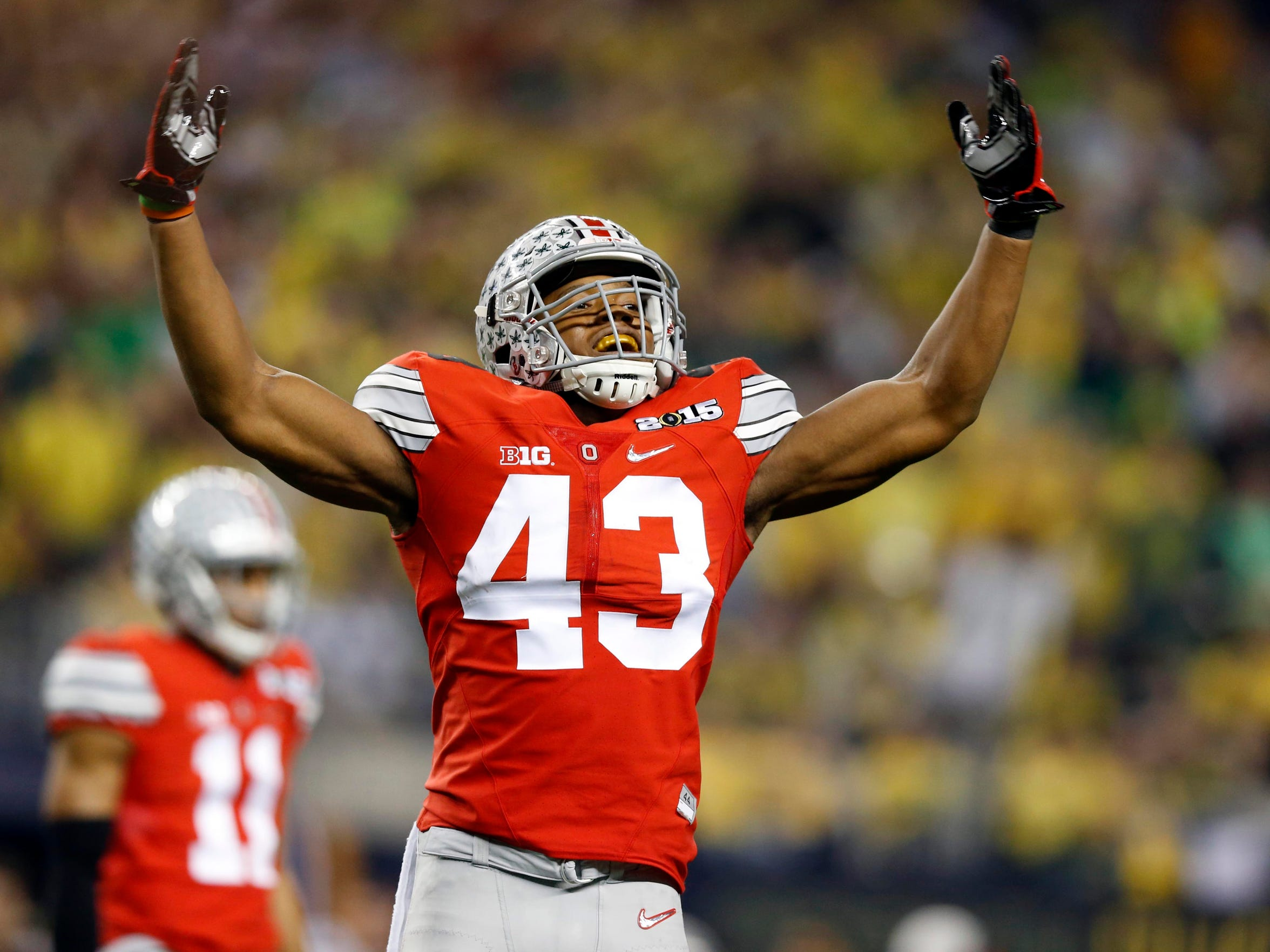 Ohio State linebacker Darron Lee