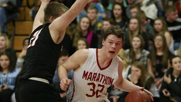 Marathon boys keep Marawood South title hopes alive with win over Stratford
