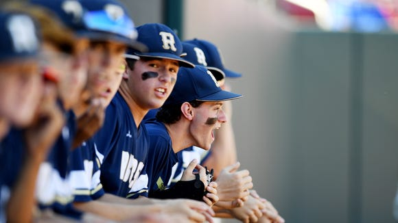 Roberson won Friday's Game 1 of the NCHSAA 4-A championship baseball series at N.C. State.