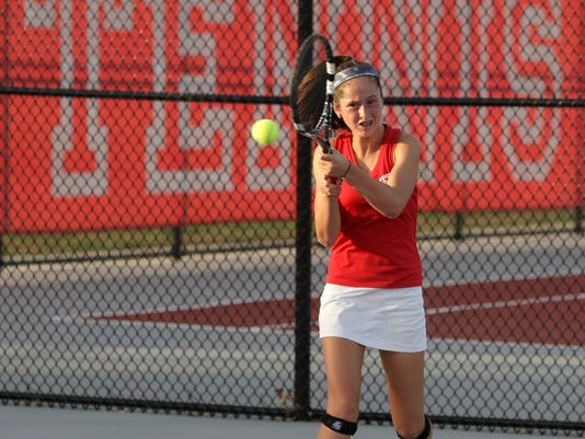 Vineland's Tess Fisher is No. 2 seed in state tournament