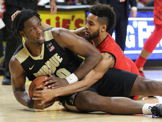 NCAA Basketball: Purdue at Maryland